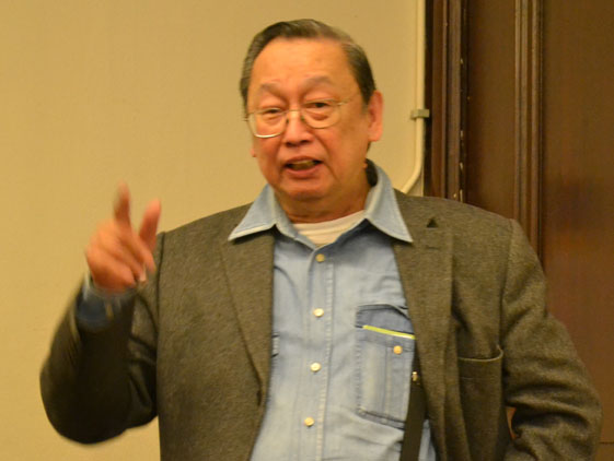 Prof. Jose Maria Sison, Chairperson of the International League of Peoples' Struggle. file photo.