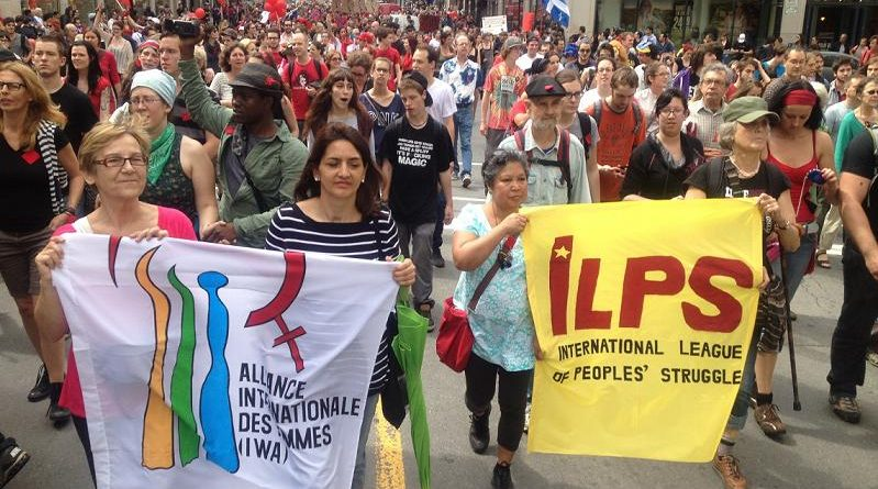 Photo from ILPS Canada