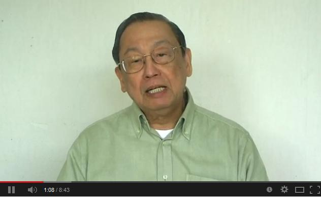 Prof. JOSE MARIA SISON, ILPS Chairperson