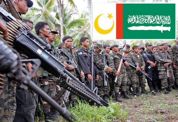 Armed fighters of the Moro Islamic Liberation Front (MILF). Photo from philstar.com