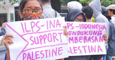 ILPS Indonesia strongly condemns US' unilateral declaration on status of Jerusalem as the capital of Israel!!