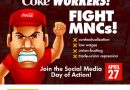 Coca Cola workers unite, struggle against MNCs